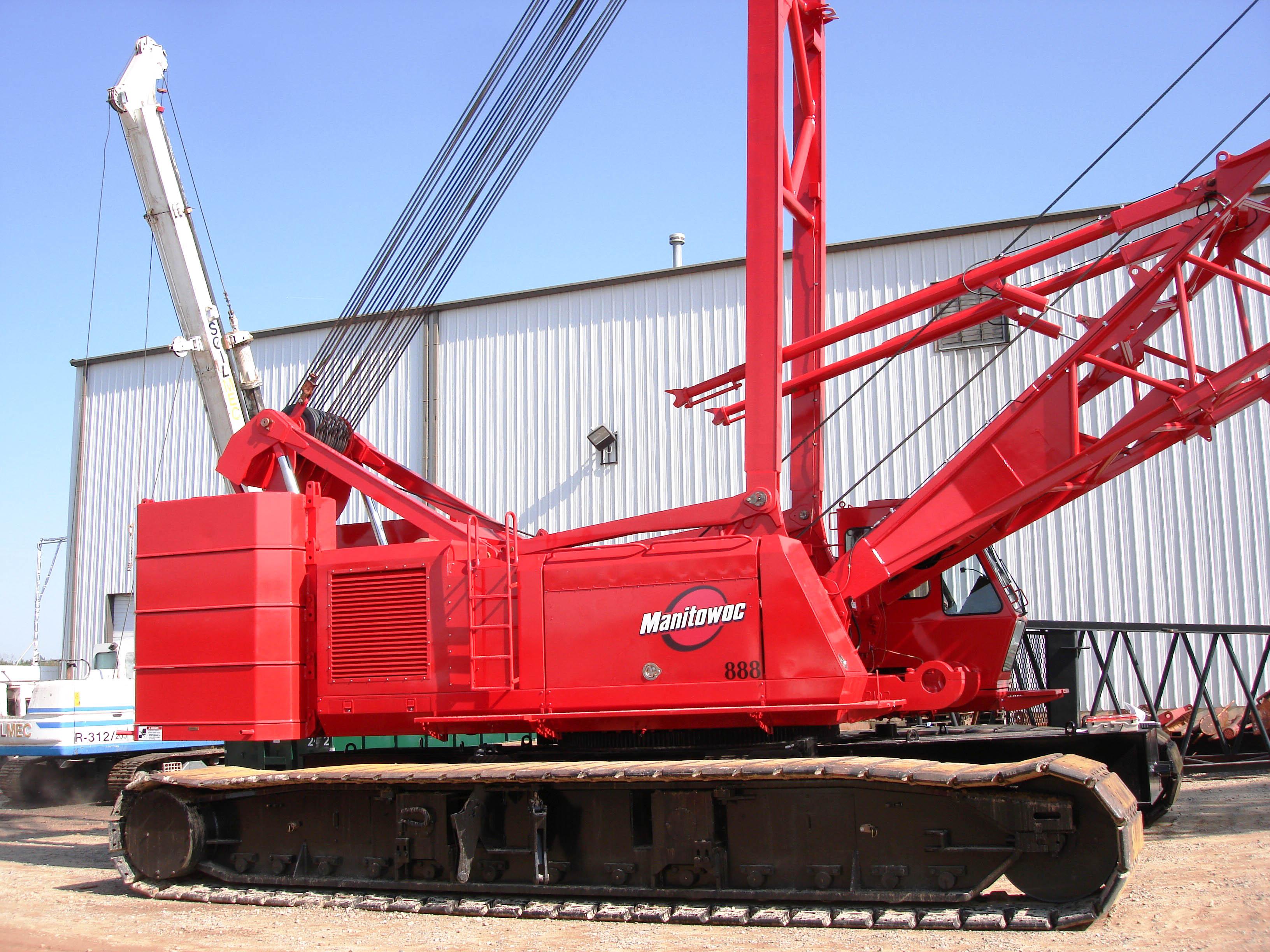 Restoration of Manitowoc 888 Crawler Crane