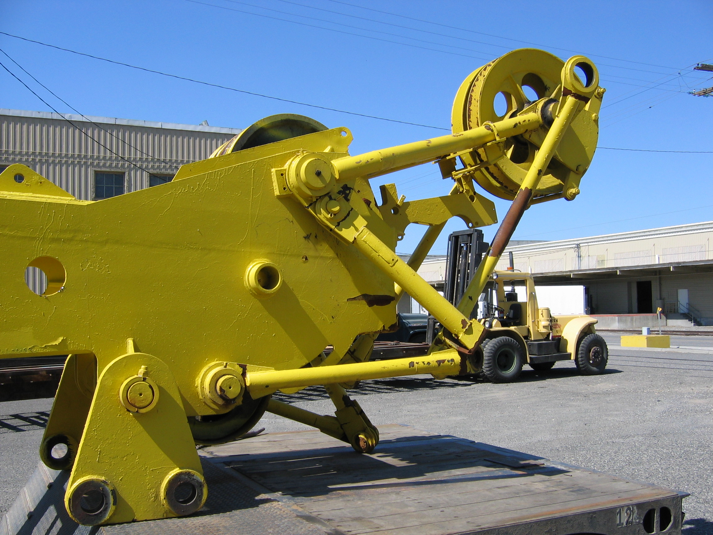 Repairing Aging and Obsolete Crane Boom
