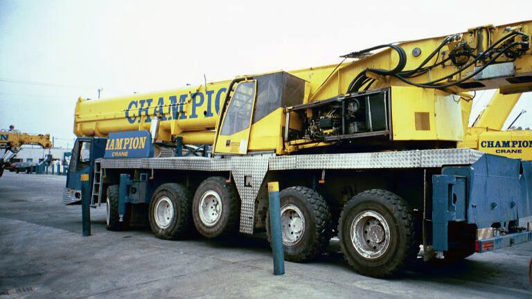 Terminator 3 Crane Repair Demag Ac395 Wheco
