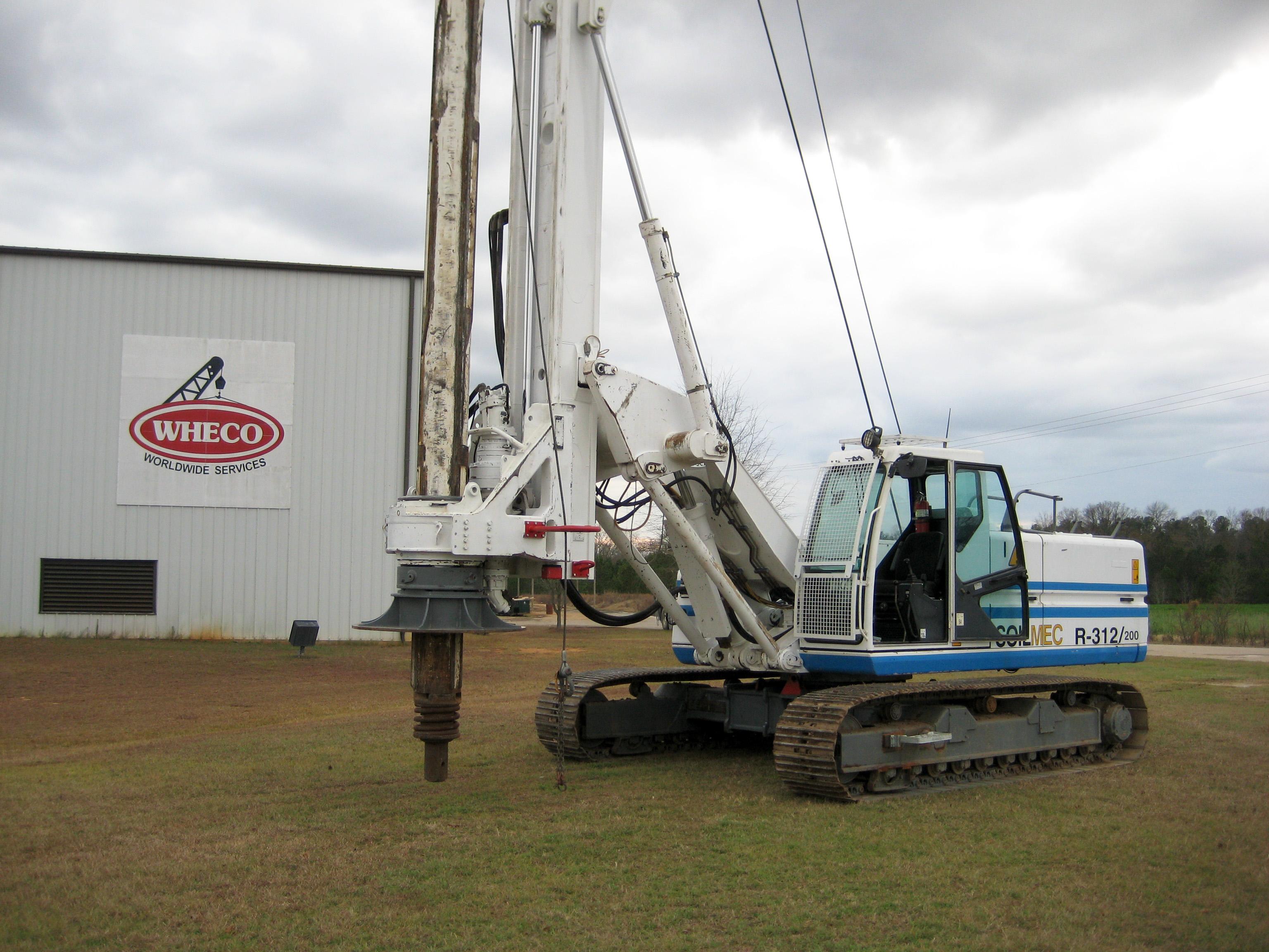 Soilmec R-312 Drill Rig/Foundation Rig Repair