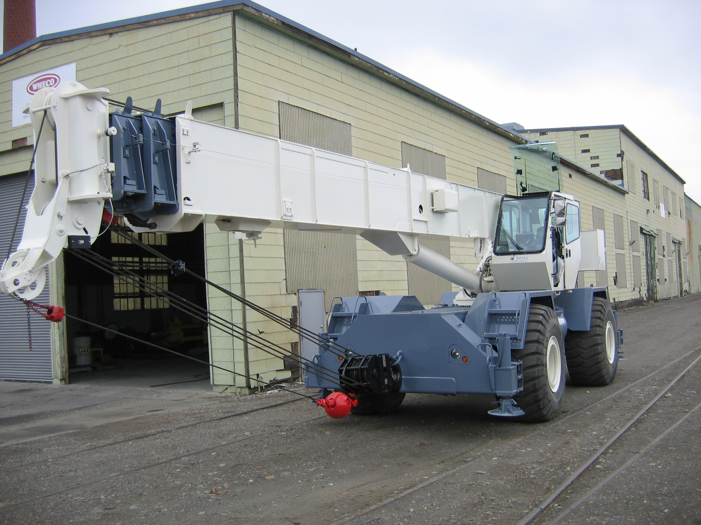 Top 5 Considerations When Buying a Used Crane