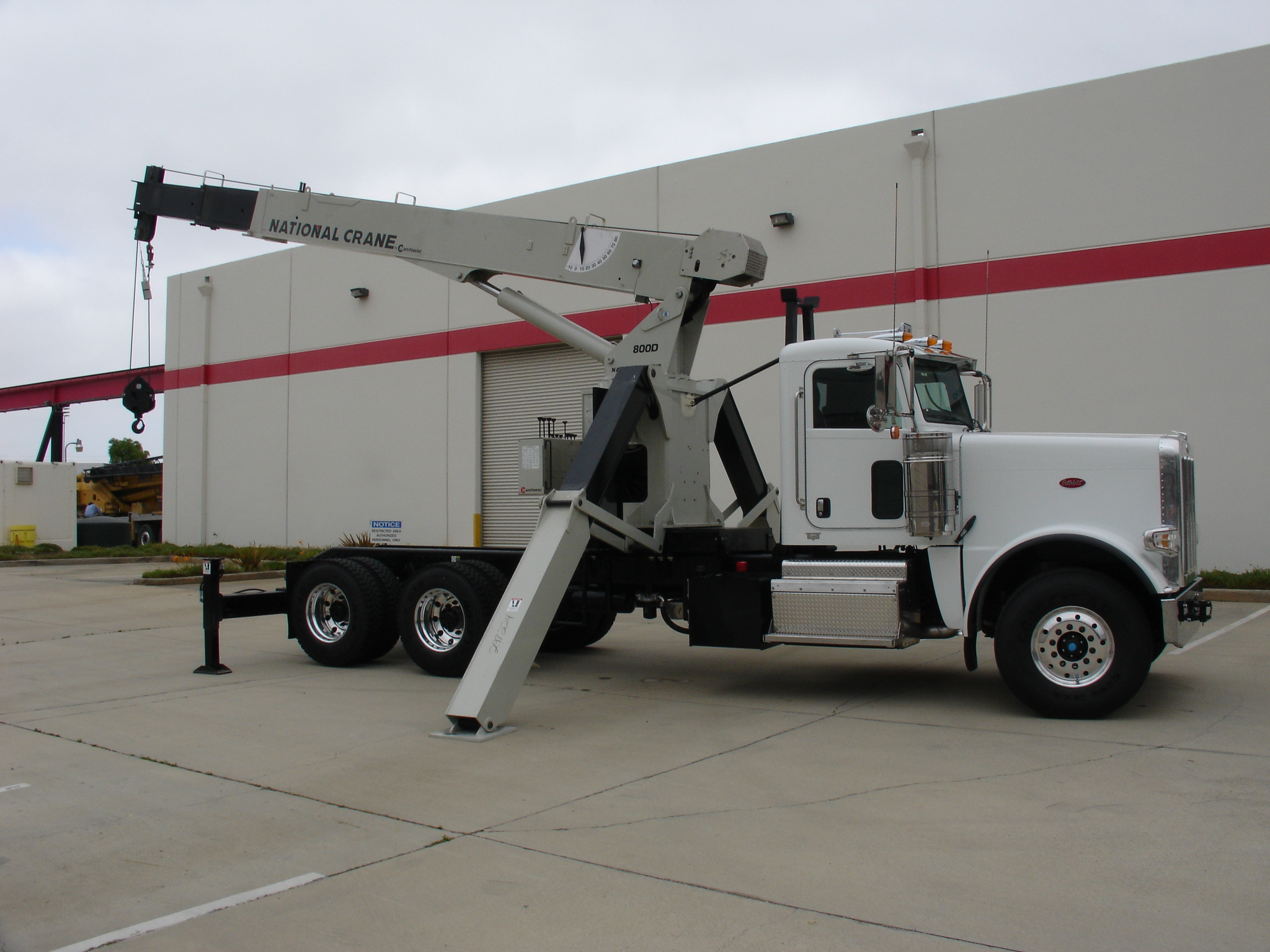 National 800d Boom Truck Mounting Wheco