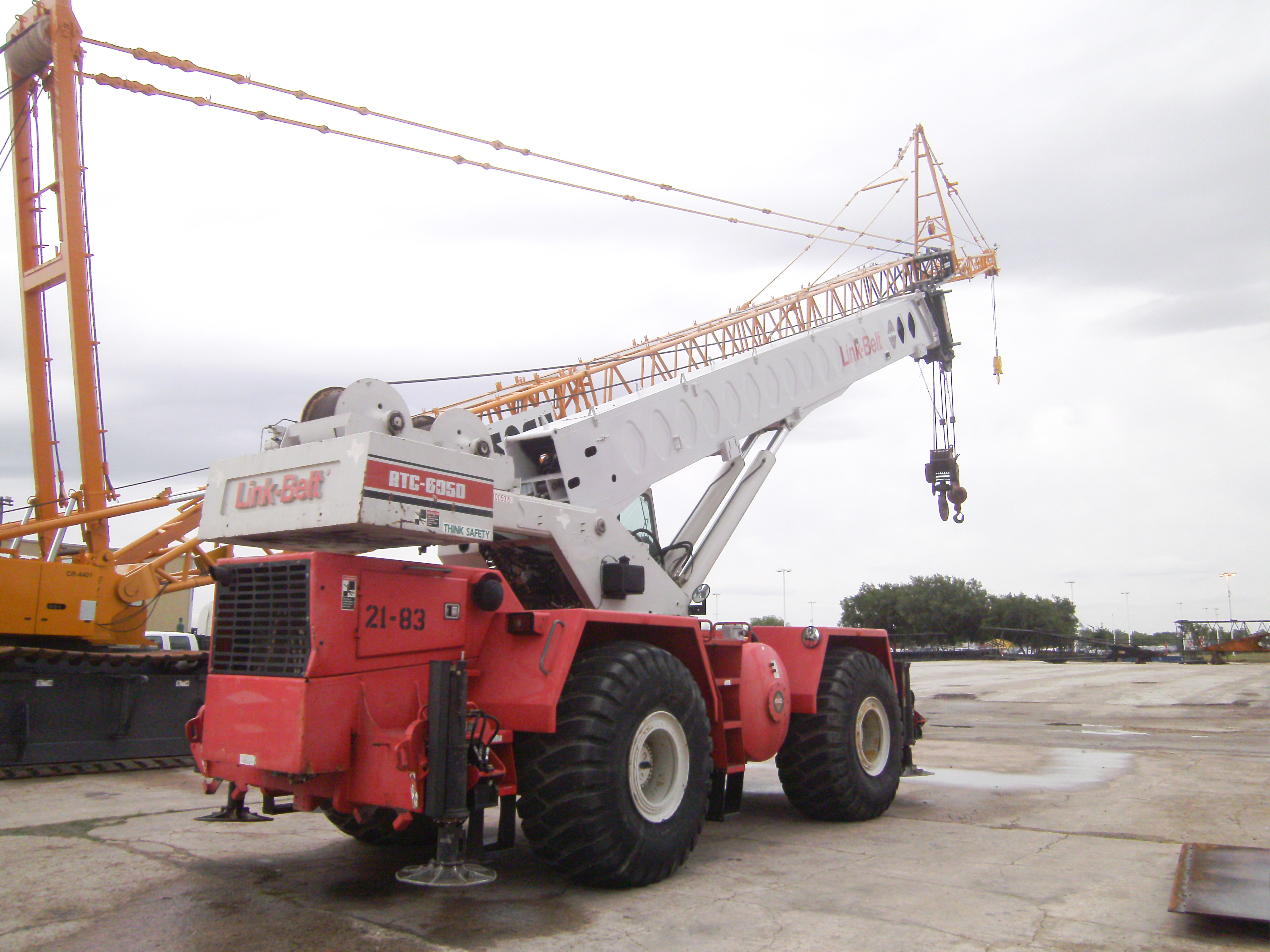 Link-Belt RTC 8050 Crane Boom Repair