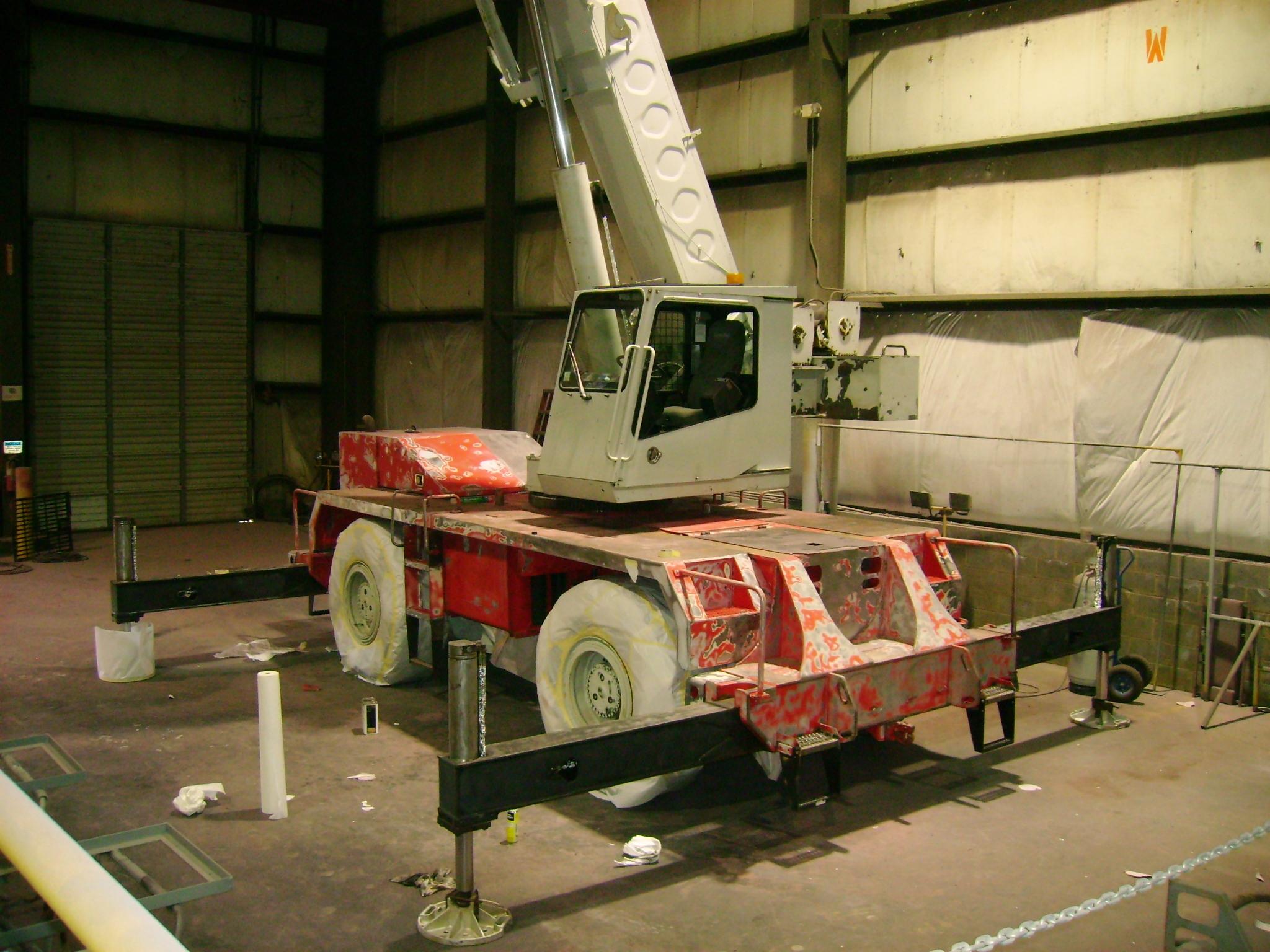 Remanufacturing Your Rough-Terrain Crane