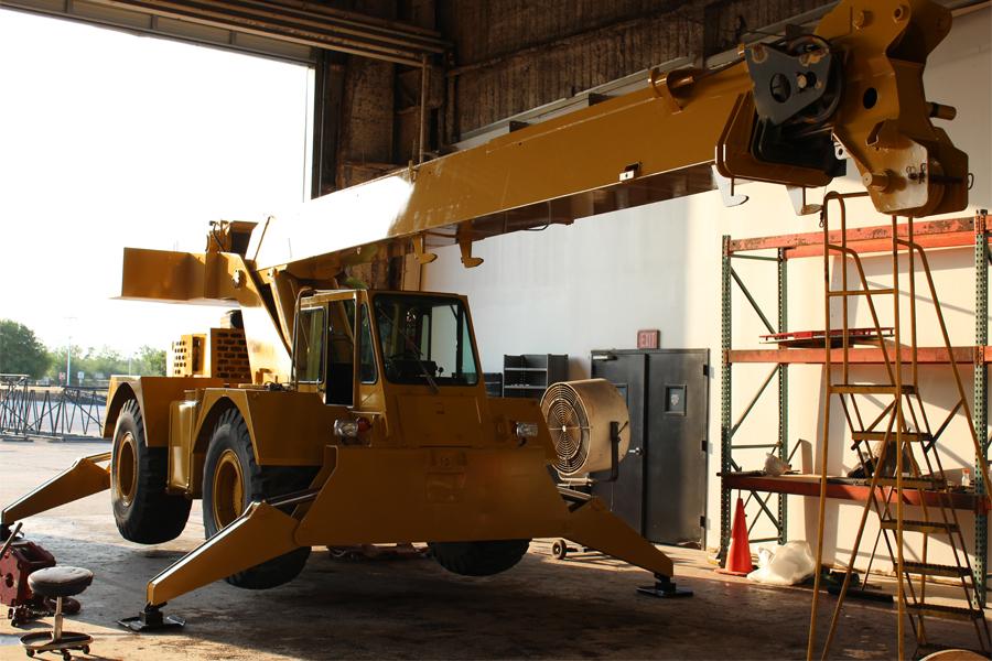 Cab-Down Crane Restoration | Consider the Options - Wheco