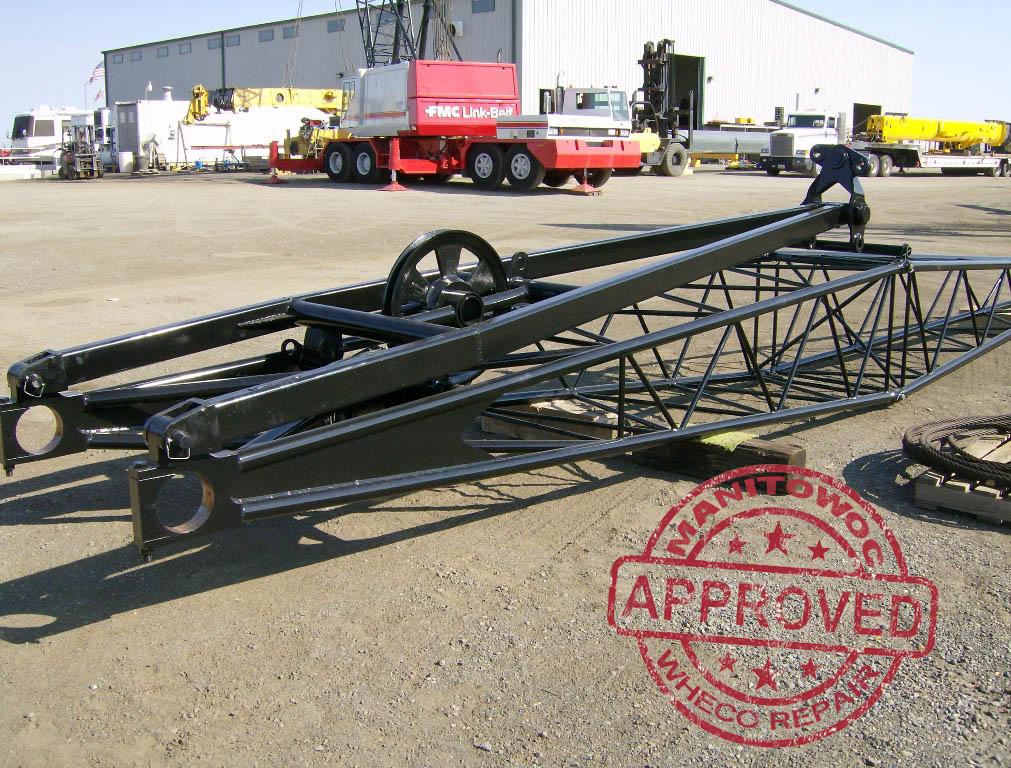 Grove HL150 Jib Base Section Repair