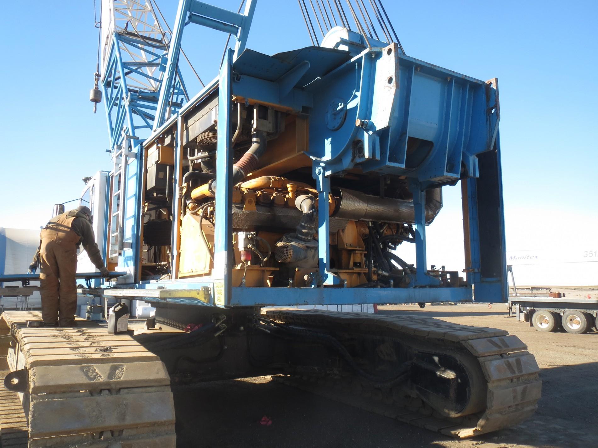 WHECO Richland, WA – Liebherr HS 883 HD Crane