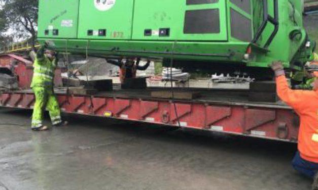 Sennebogen 870 Rail Repair