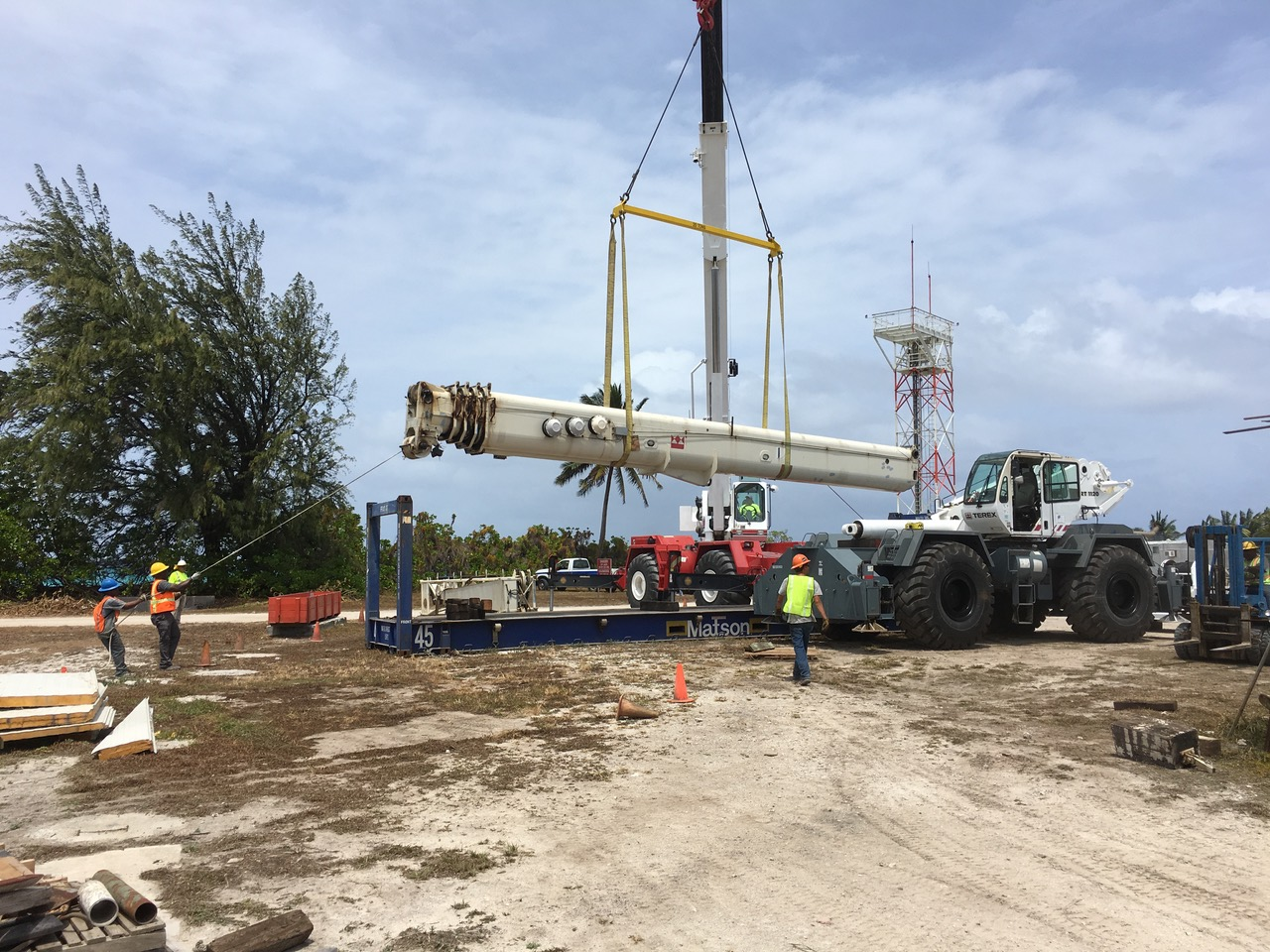 Is That Crane Tipping? - Wheco