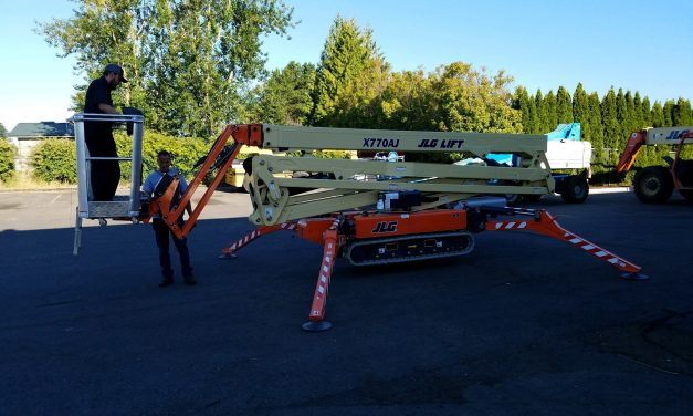 "JLG Mini Crawler ""Can Bus Error"""