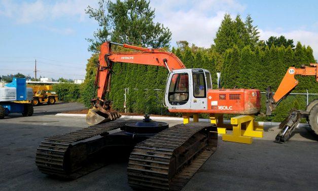 Excavator Swing Bearing