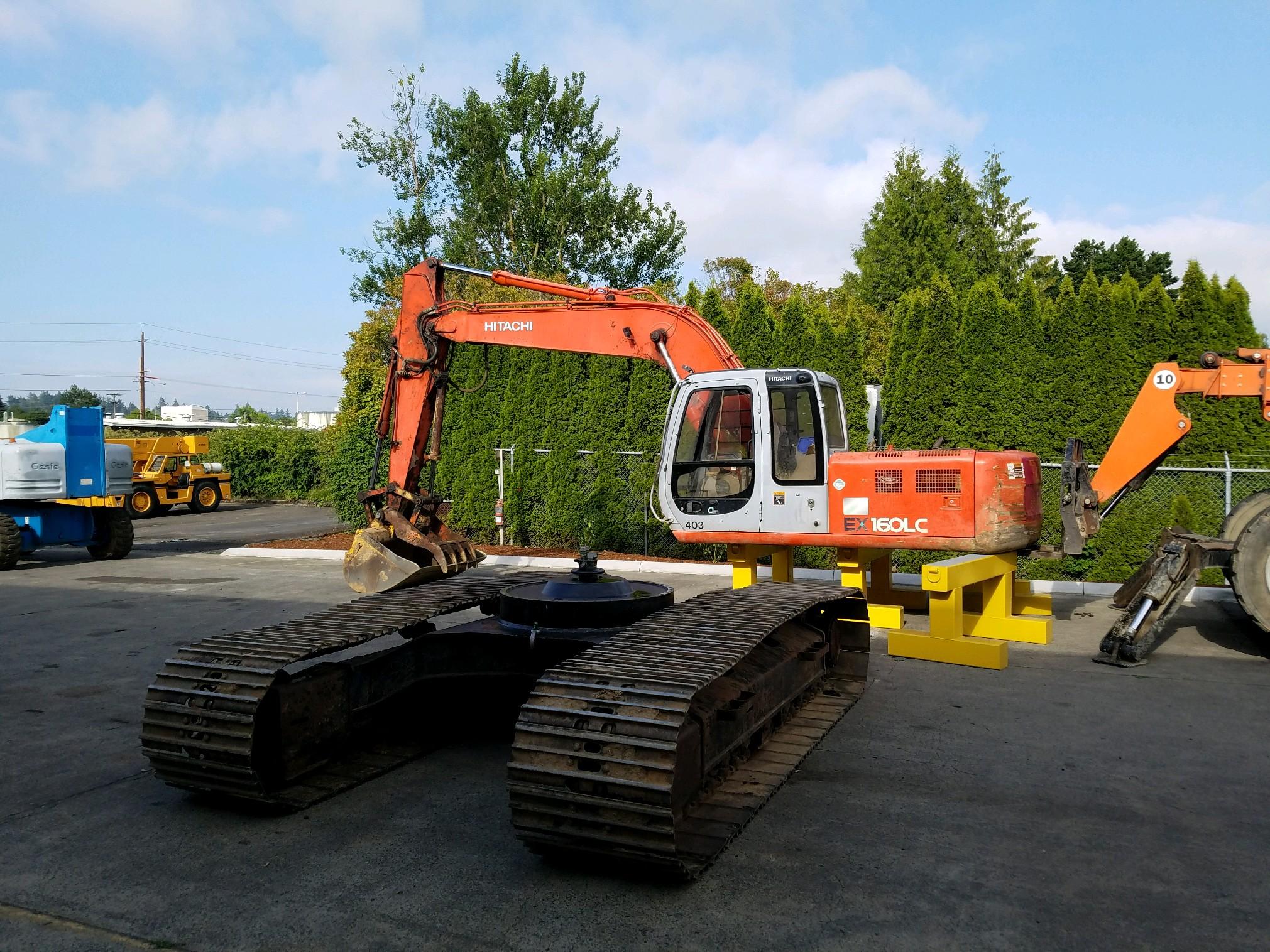 Excavator Swing Bearing - Wheco
